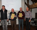 Unsere neuen Ehrenmitglieder Hermann Kremer Heinz Mäsker